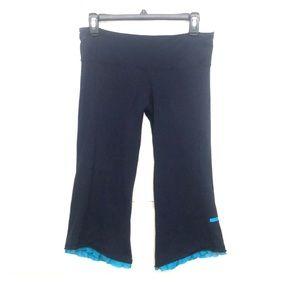 LULULEMON Capri ruffle leggings